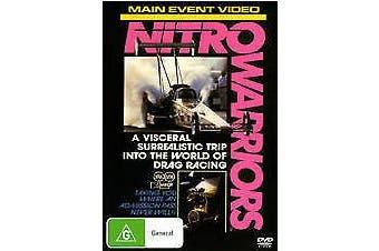 Nitro Warriors Region 4 Drag Racing Rated G - Series Region 4 DVD NEW