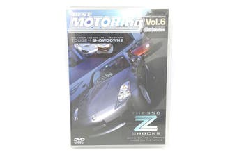 Best Motoring Volume 6 the 350z m3 Boxster - DVD Series Rare Aus Stock New