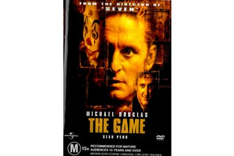 The Game - Rare DVD Aus Stock PREOWNED: DISC LIKE NEW