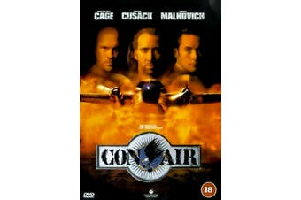 Con Air -Rare DVD Aus Stock Comedy PREOWNED: DISC LIKE NEW