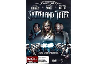 SOUTHLAND TALES - Rare DVD Aus Stock PREOWNED: DISC LIKE NEW