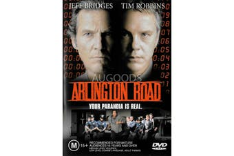 Arlington Road - Rare DVD Aus Stock PREOWNED: DISC LIKE NEW