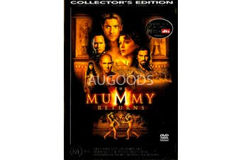 The Mummy Returns - Rare DVD Aus Stock PREOWNED: DISC LIKE NEW