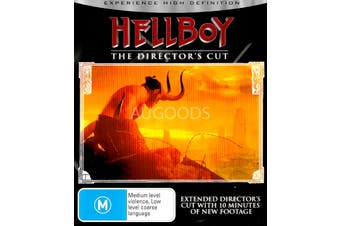 Hellboy - Rare Blu-Ray Aus Stock PREOWNED: DISC LIKE NEW