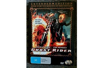 Ghost Rider : Extended Edition - Rare DVD Aus Stock PREOWNED: DISC LIKE NEW