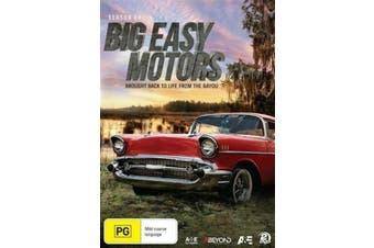 Big Easy Motors: Season 1   2016 -Educational Preowned DVD: DISC LIKE NEW Series Rare Aus Stock