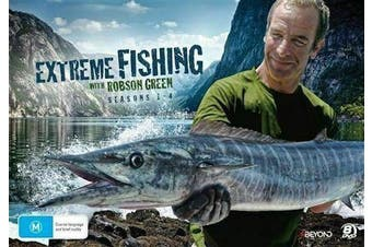 Extreme Fishing with Rob Green: Seasons 1 - 4 (2016, 8-Disc Set) - Preowned DVD: DISC LIKE NEW Series