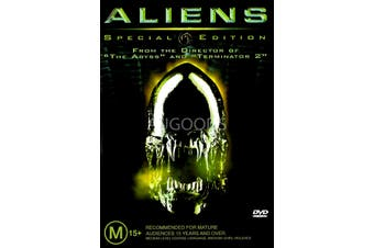 Aliens Special Edition - Rare DVD Aus Stock PREOWNED: DISC LIKE NEW