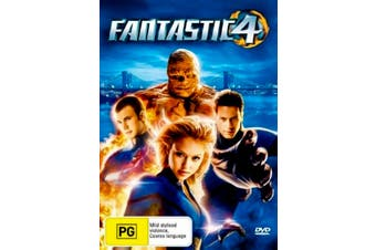 Fantastic Four 4 - Rare DVD Aus Stock PREOWNED: DISC LIKE NEW