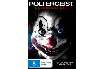 Poltergeist (2015) Extended Cut - Rare DVD Aus Stock PREOWNED: DISC LIKE NEW