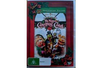 The Muppet Christmas Carol -Kids DVD Rare Aus Stock PREOWNED: DISC LIKE NEW