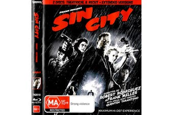 Sin City - Rare Blu-Ray Aus Stock PREOWNED: DISC LIKE NEW