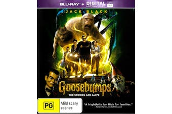 Goosebumps (2015) (UV) - Rare Blu-Ray Aus Stock PREOWNED: DISC LIKE NEW