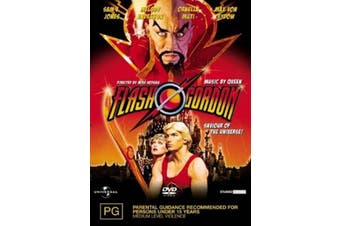 Flash Gordon - DVD Series Rare Aus Stock Preowned: Excellent Condition