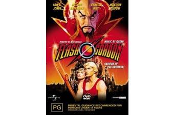 Flash Gordon - DVD Series Rare Aus Stock Preowned: Excellent Condition