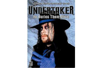 WWE - Undertaker - He Buries Them Alive Region 1 - Rare Preowned DVD Excellent Condition Aus Stock