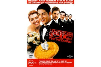 American Pie The Wedding -Rare DVD Aus Stock Comedy Preowned: Excellent Condition