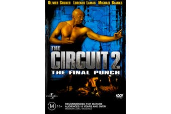 THE CIRCUT 2 - THE FINAL PUNCH - Rare DVD Aus Stock Preowned: Excellent Condition