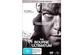 THE BOURNE ULTIMATUM - (MATT DAMON) - Rare DVD Aus Stock Preowned: Excellent Condition