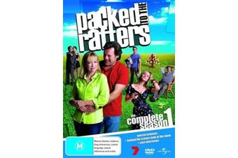 Packed to the Rafters Season 1 -DVD Comedy Series Rare Aus Stock