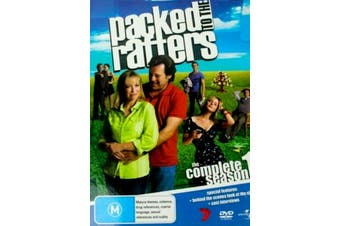 Packed to the Rafters the Complete season 1 - Preowned DVD Excellent Condition Series Rare Aus Stock
