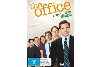 The Office Season 5 Part 2 -DVD Comedy Series Rare Aus Stock Preowned: Excellent Condition