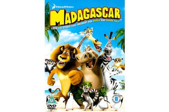 Madagascar -Rare DVD Aus Stock Animated Preowned: Excellent Condition