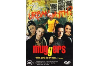 Muggers -Rare DVD Aus Stock Comedy Preowned: Excellent Condition