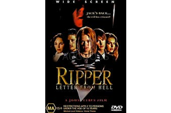 RIPPER - Rare DVD Aus Stock Preowned: Excellent Condition