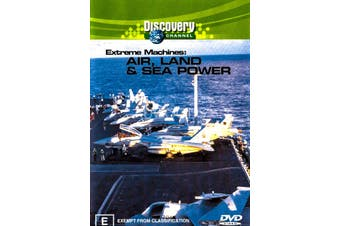 Extreme Machines: Air, Land & Sea Power - Preowned DVD Excellent Condition Series Rare Aus Stock