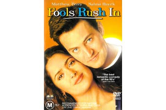 Fools Rush In -Rare DVD Aus Stock Comedy Preowned: Excellent Condition