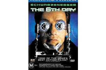 The 6th Day - Rare DVD Aus Stock Preowned: Excellent Condition