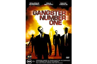 Gangster Number One - Rare DVD Aus Stock Preowned: Excellent Condition