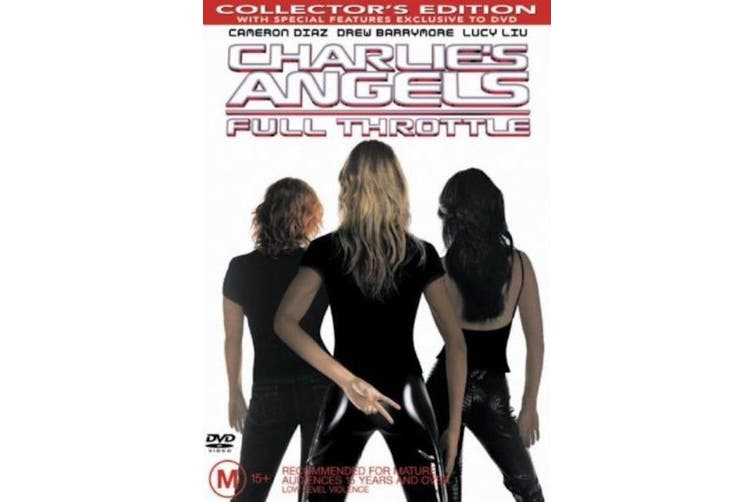 Charlie's Angels Full Throttle Collector's Edition - Region 4 Preowned DVD Excellent Condition