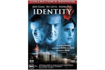 Identity -John Cusack - Rare- Aus Stock DVD Preowned: Excellent Condition