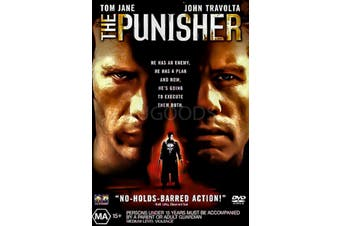 THE PUNISHER - Rare DVD Aus Stock Preowned: Excellent Condition