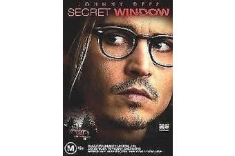 Secret Window -Johnny Depp - Rare DVD Aus Stock Preowned: Excellent Condition