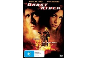 Ghost Rider - Rare- Aus Stock DVD Preowned: Excellent Condition
