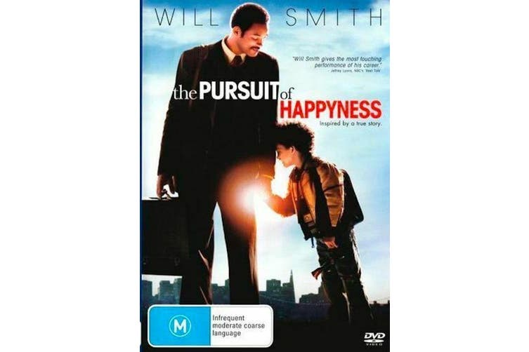 The Pursuit of Happyness  - Rare- Aus Stock DVD  Preowned: Excellent Condition