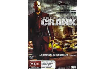 CRANK - Rare DVD Aus Stock Preowned: Excellent Condition