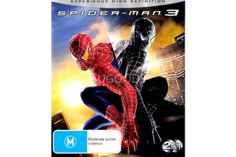 Spider-Man 3 -Rare Blu-Ray Aus Stock -Family Preowned: Excellent Condition