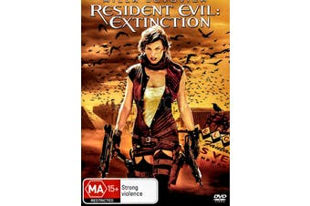RESIDENT EVIL: EXTINCTION - Region 4 Rare- Aus Stock DVD Preowned: Excellent Condition