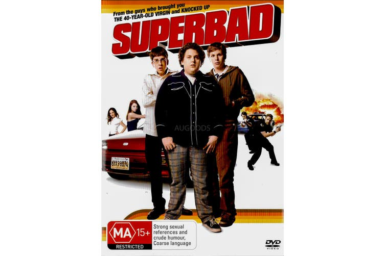 SUPERBAD -Comedy Region 4 Rare- Aus Stock DVD Preowned: Excellent Condition