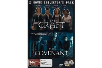THE CRAFT PLUS THE COVENANT: 2 MOVIE COLLECTORS PACK - DVD Preowned: Excellent Condition