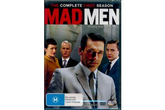 Mad Men Complete First Season one 1 - Rare DVD Aus Stock Preowned: Excellent Condition