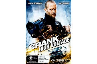 Crank 2 High Voltage - Rare DVD Aus Stock Preowned: Excellent Condition