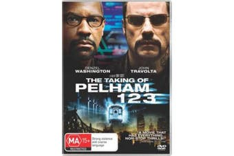 The Taking Of Pelham 123 - Rare DVD Aus Stock Preowned: Excellent Condition