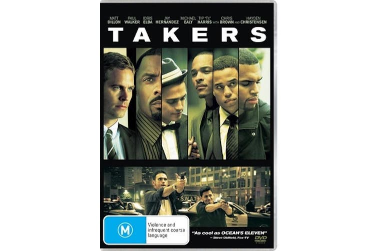 Takers - Rare DVD Aus Stock Preowned: Excellent Condition