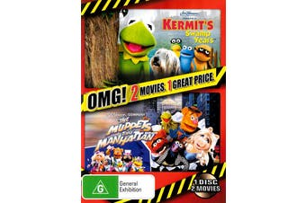 Kermit's Swamp Years / The Muppets Take Manhattan - Rare Preowned DVD Excellent Condition Aus Stock