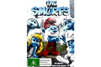 THE SMURFS -Animated Rare- Aus Stock Blu-Ray Preowned: Excellent Condition